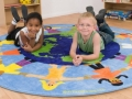 Children of the World circular carpet