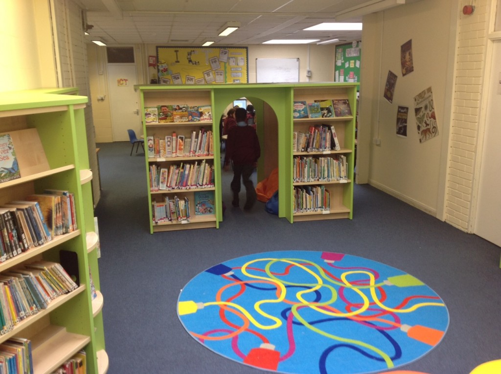 Stanford Primary School Reading Den